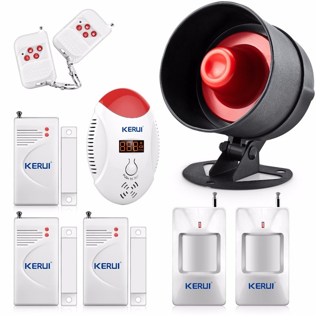 Aliexpresscom Buy Wireless Home House Office Alarm Siren System