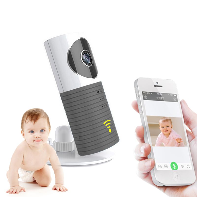BabyKam Wireless Baby Monitor Mini Wifi IP Camera Baby Camera with Motion Detection Night Vision Child Safety Smart Home Cam howell wireless security hd 960p wifi ip camera p2p pan tilt motion detection video baby monitor 2 way audio and ir night vision