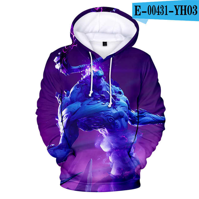 Fortnited Battle Royale Hoodie Fortniter Hoodies Game Kid Clothes Costume Game Clothes Harajuku Popular Clothings Women Clothes