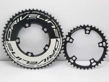 DRIVELINE CNC 53/39 road bike TT chainring 110BCD/130BCD - DISCOUNT ITEM  10% OFF All Category