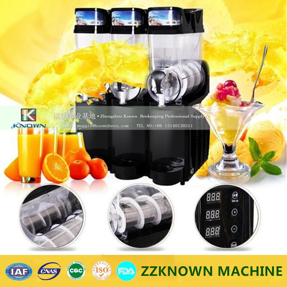 3 tanks electric CE approved commercial ice slush machine for sale/slush machine/slush maker