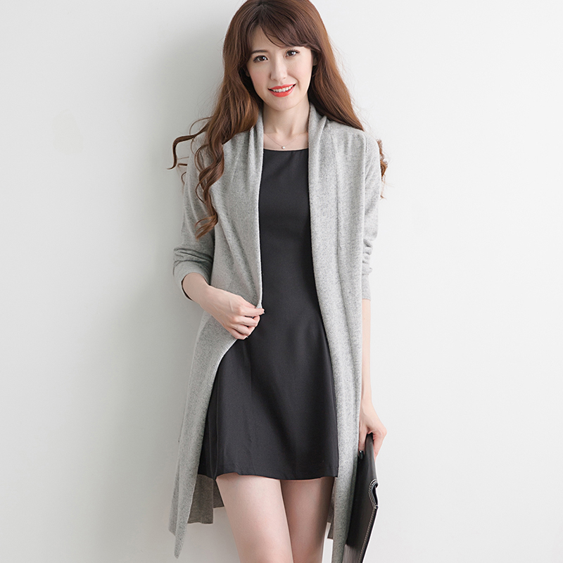 Long Black Sweater Coat Promotion-Shop for Promotional Long Black ...