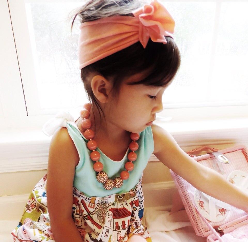 40 հատ / լիտր Baby Girl բամբակ Rolld ծաղիկ առաձգական գլխաշոր Նոր ծնված մանկական մազերի խումբ