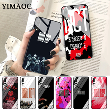 YIMAOC NCT 127 Kpop Boy group Glass Case for Huawei P10 lite P20 Pro P30 P Smart honor 7A 8X 9 10 Y6 Mate 20