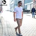 ПОКУПАТЕЛЬ ПОКАЗАТЬ джастин бибер марка стиль боковой молнии мужская тонкий повседневная мужская hip hop jogger байкер брюки swag тренировочные брюки тощий брюки