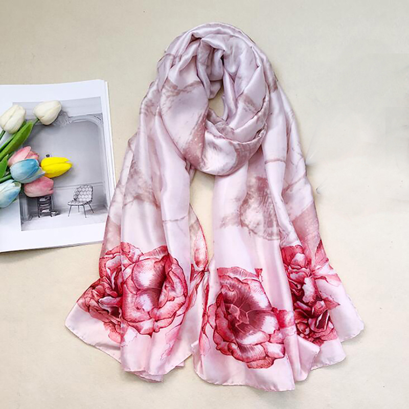 New fashion <font><b>180*90</b></font> cm women scarf Shawl Long Beach Towel Sunscreen scarves for ladies Floral All-Match Keep Warm warps image