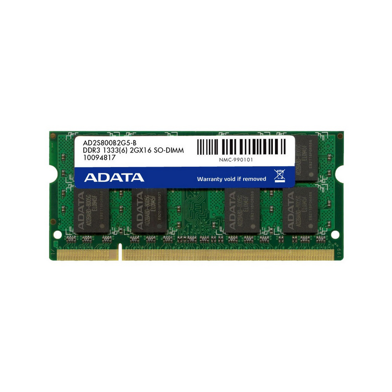 ADATA DDR3 1 5V 2GB 4GB 8GB 1333MHz Ram Memory SO DIMM 204 Pin PC3 10600 For Lenovo ThinkPad SONY Acer SAMSUNG HP Laptop RAMs in RAMs from Computer Office