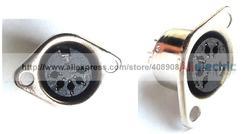 20 sztuk łuszczone 5 Pin DIN żeńskie gniazdo żeńskie złącza lutownica DIY