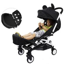 Baby Stroller Armrest Foot Support Umbrella Car Accessories Extended Booster Seat Footrest