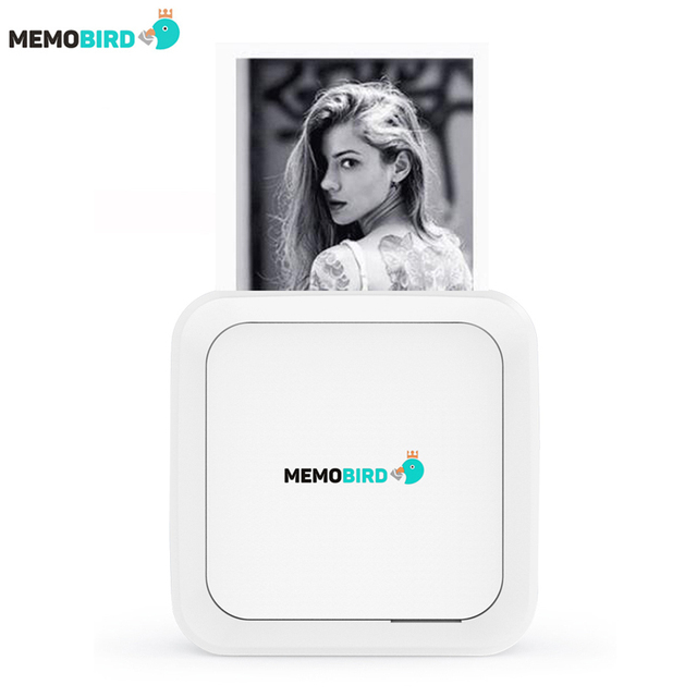 New Lnternational Edition MEMOBIRD GT1 Bluetooth 4.2 Portable Printer Phone Photo printer Pocket Mini Sticker Thermal printer
