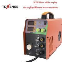 MIG Welder MIG/TIG/ARC Welder 3 in 1 Welding Machine MIG200 DC 100/220V 200A MMA Inverter IGB