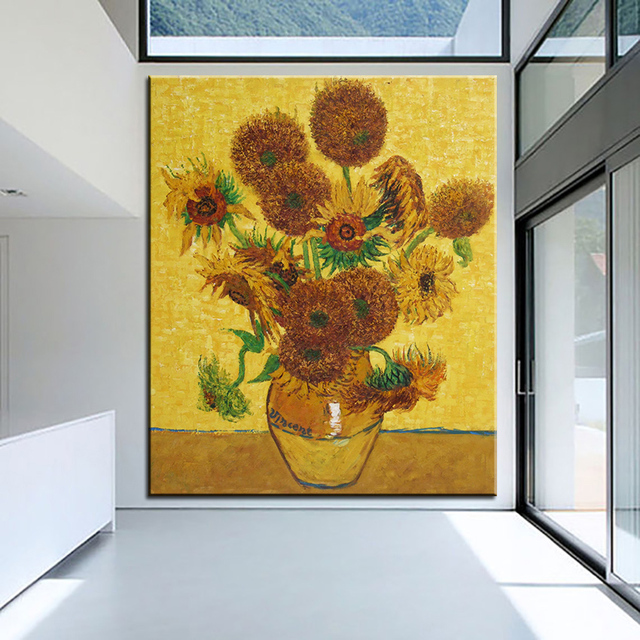 Best print no 311 flower wall painting Amazing oil painting Color ...