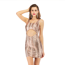 цены Sexy Sheath Sequined Glitter Mini Dress O-Neck Short Sleeveless Night Club Bodycon Dresses Women Summer Fashion Party Clothing