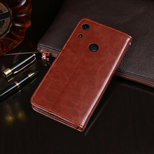 For Huawei Honor 8A Pro Case Flip Wallet Business Leather Coque Phone Case for Honor 8A Pro JAT-L41 Cover Fundas Accessories yal l41 yal l21 honor 20 pro fashion magnetic business case for huawei honor 20 pro artificial leather wallet flip stand cover