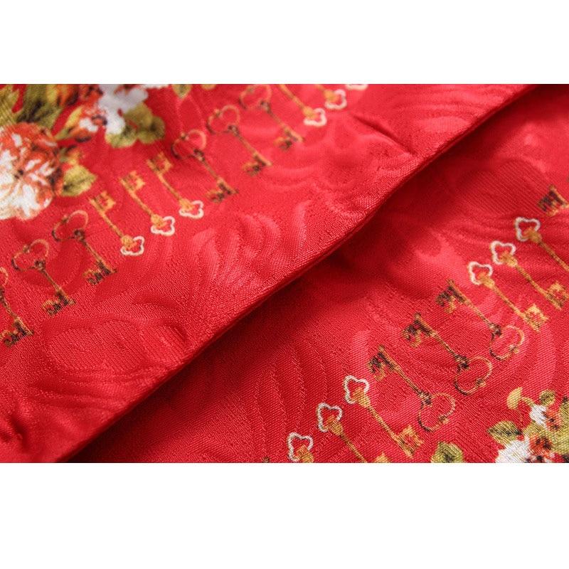 Divat piros lányok kardigán nyomtatás gyermek téli kabátok - Gyermekruházat - Fénykép 5