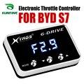 Auto Elektronische Gasklep Controller Racing Gaspedaal Potent Booster Voor BYD S7 Tuning Onderdelen Accessoire