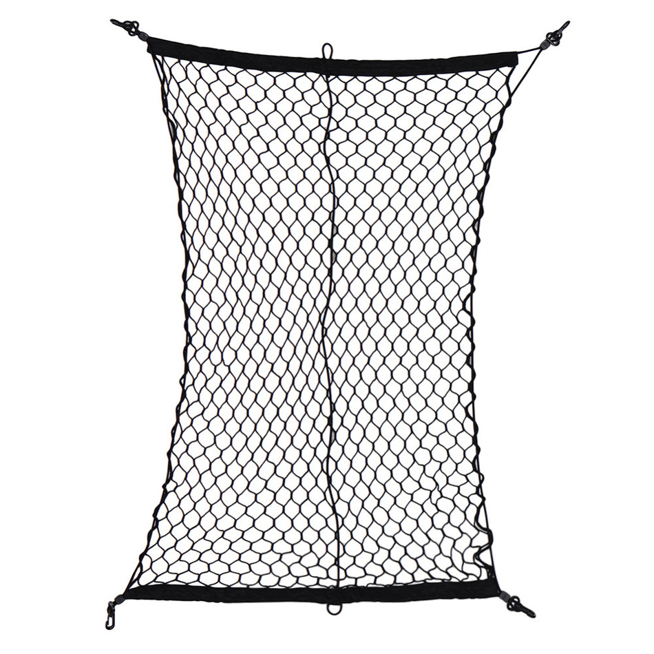 new arrival car cargo net luggage holder trunk interior mesh net storage bag tidying with 4. Black Bedroom Furniture Sets. Home Design Ideas