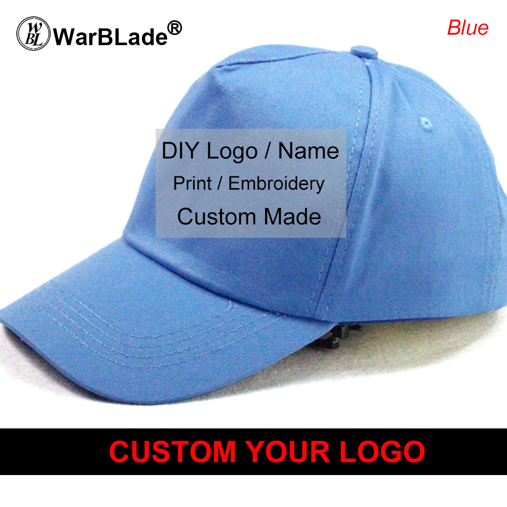 8509e3572c2 LOGO Custom Embroidery Hats Baseball Snapback Cap Custom Acrylic Cap  Adjustable Hip Hop or Fitted Full closure Hat WarBLade-in Baseball Caps  from Apparel ...