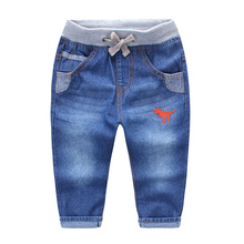 2016 New Fashion Character Pants Jeans autumn children jeans baby boys pants high quality kids Children's denim trousers