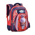 Waterproof Backpack Child Kids School bag 3D Cartoon Big Capacity Russia Style Orthopedic School bags For Boys Car Ultralight