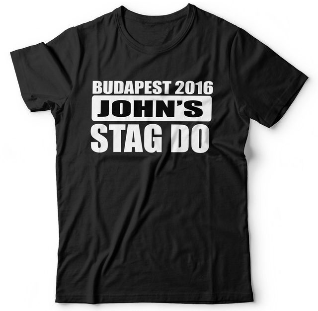 c7013ab9 Stag Do T shirt Custom Men's Lads Holiday Personalised Design BUY 4 GET 1  FREE