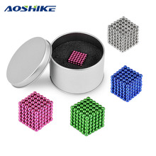 3mm 216 pcs Magic Strong NdFeB colorful buck ball Creative neodymium magnet magnets imanes Fun magnetic toys For Adult Kids(China)