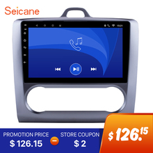 Seicane 2DIN Android 6.0 GPS Navigation Touchscreen Quad-core Car Radio for 2004-2011 Ford Focus Exi AT with FM AUX Bluetooth