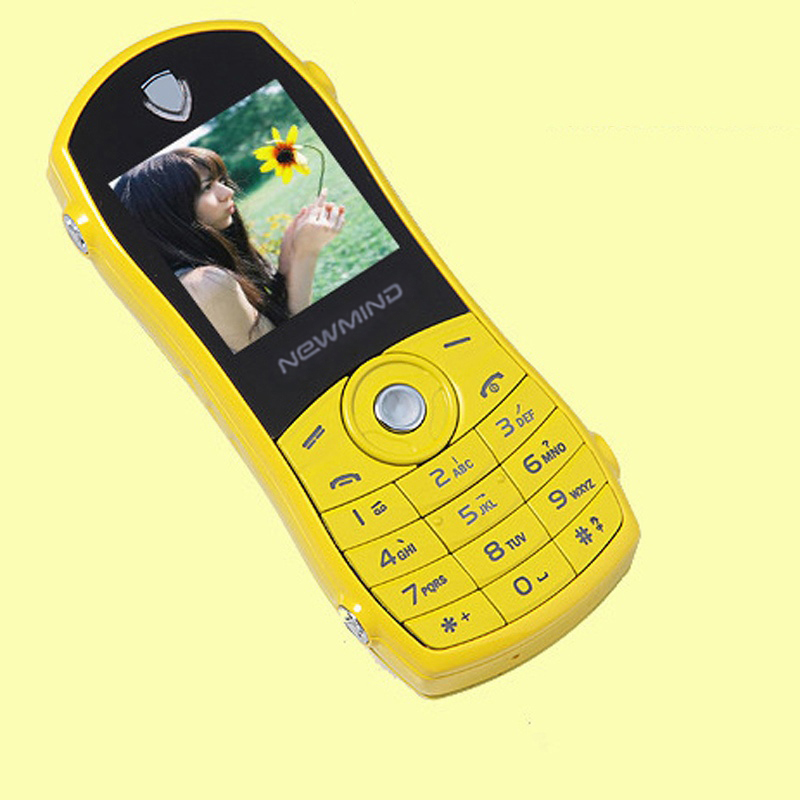 Image 2 - Newmind F3 Bar Sport Car Model Shape Russian Key Quad band Low Radiation Mini Mobile Cellphone For Children Student Dual Sim-in Cellphones from Cellphones & Telecommunications