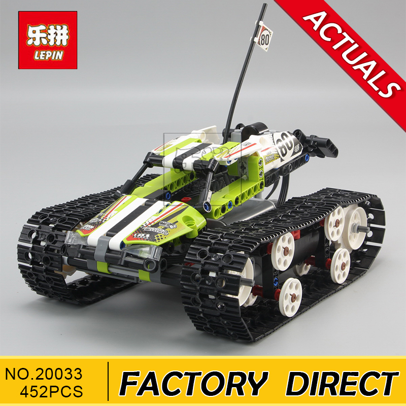 Lepin 20033 Technic Series The RC Track Remote-control Race Car Set Building Blocks Bricks Educational Toys 42065