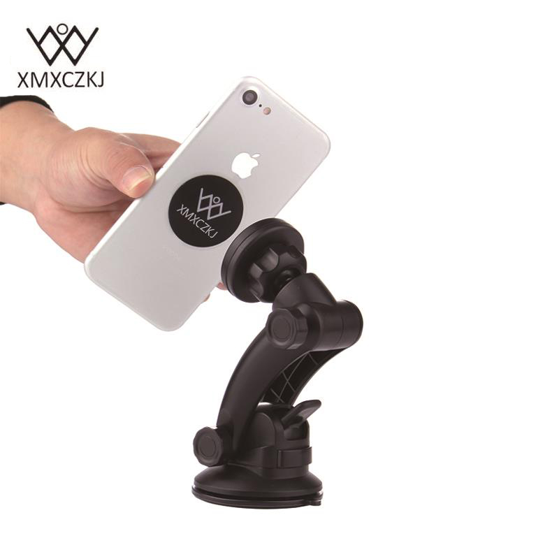XMXCZKJ Mobile Phone Car <font><b>Suction</b></font> <font><b>Cup</b></font> <font><b>Mount</b></font> <font><b>Holder</b></font> For IPhone 5s 6 6s For Xiaomi Huawei Mobile Phone Magnet Universal Accessories