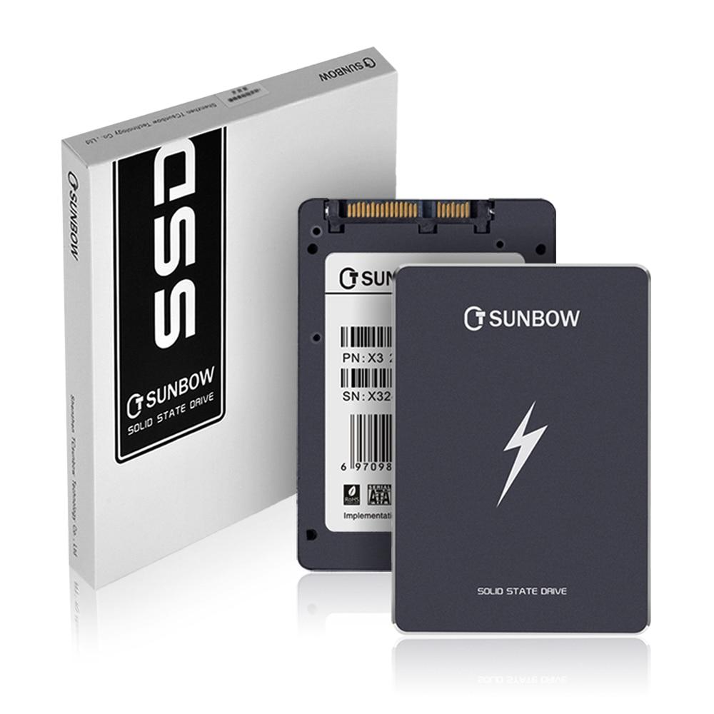 TC-SUNBOW 60 3 SATA GB 120GB 240GB 480GB 1TB Discos de Estado Sólido com 3 anos de garantia mais barato 2.5 Hard Disk Drive Para PC