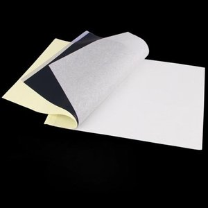 Image 3 - Conjunto 100 tatuagem térmica estêncil transferência papel copiadora a4