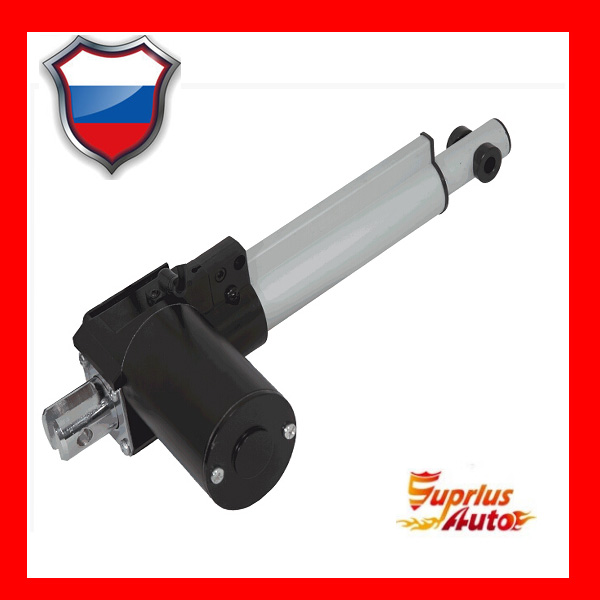 DC 12/24V motor, 4inch/100mm stroke and 6000N/600KGS/1320LBS load electric linear actuatorDC 12/24V motor, 4inch/100mm stroke and 6000N/600KGS/1320LBS load electric linear actuator