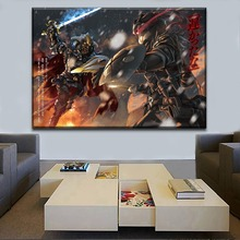 HD Printing Type 1 Piece Anime Goblin Slayer Warrior Duel Canvas Painting Wall Art Picture Home Decorative Living Room Poster