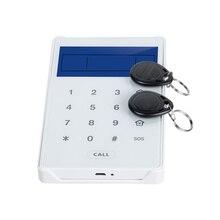 868 МГц Двусторонняя коммуникационная клавиатура Сенсорный экран RFID Клавиатура для фокусировки домашняя охранная сигнализация ST-V, ST-VGT, ST-IIIB, ST-IIIGB