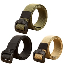 135cm long big size new nylon material mens belt military outdoor tactical male belts for men luxury