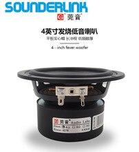 """Sounderlink Ses Labs 4 INÇ 60 W subwoofer woofer bas hoparlör sürücüsü 4 """"40 W SES dönüştürücü Diy için ev sineması araba"""