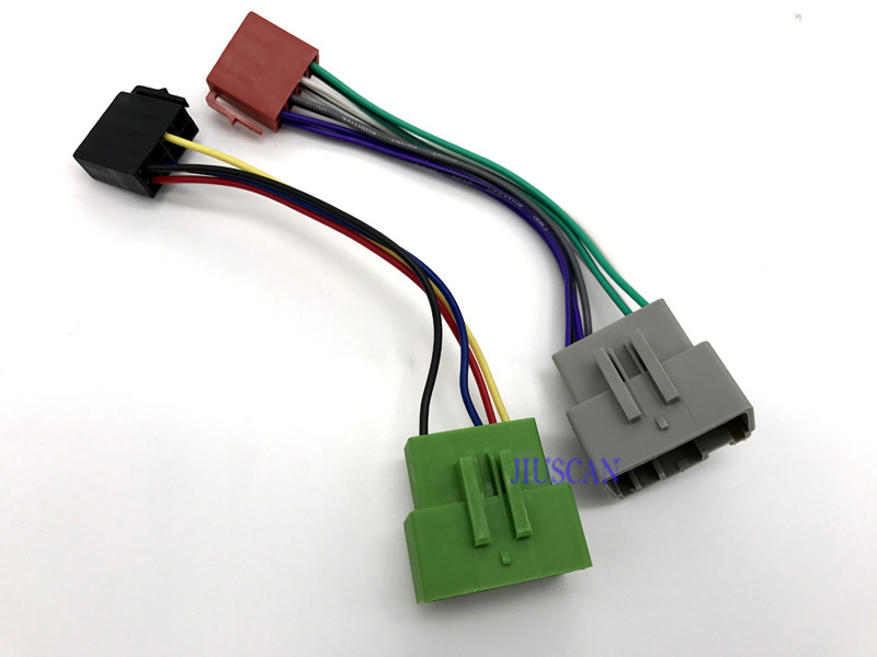 ISO Car Audio Radio font b Wire b font font b Harness b font cable for volvo harness 8 wire automotive wiring harness supplies \u2022 wiring wire harness supplies at gsmportal.co