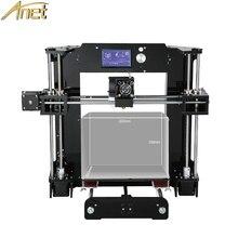 Anet A8 A6 Cheap 3D Printers DIY Extruder Nozzle 0.4MM Reprap Cheap Prusa i3 3D Printer High Precision Impressora Euro/USA Stock