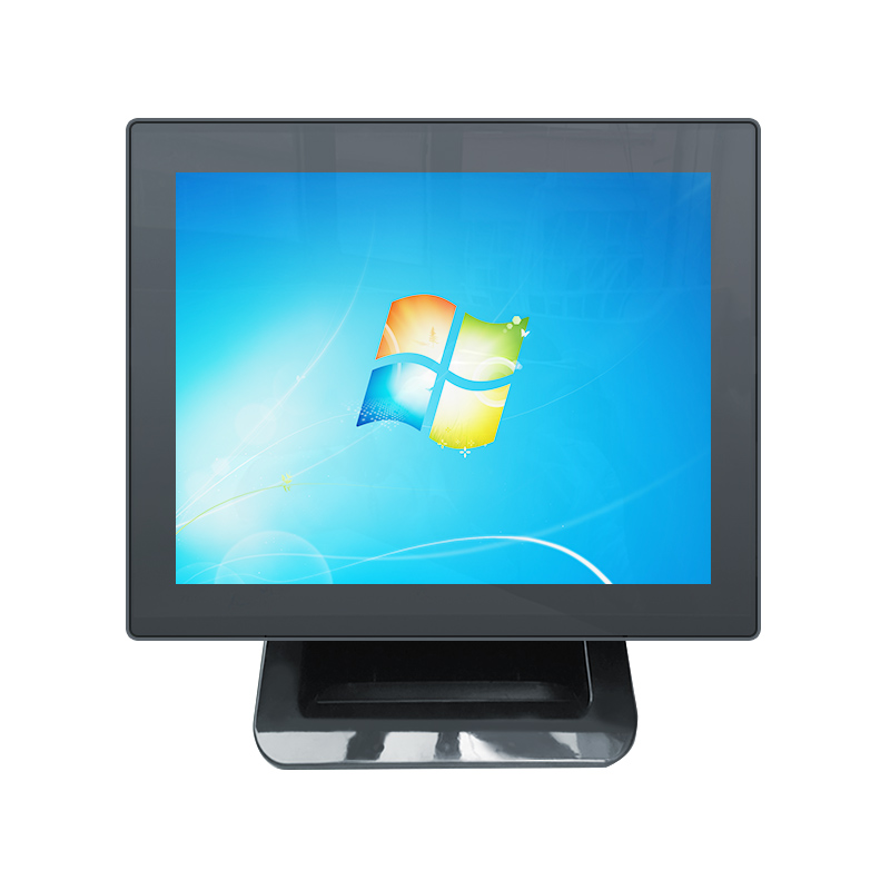 Touch Pos Machine Black 15 Inch Dual Screen Pos System