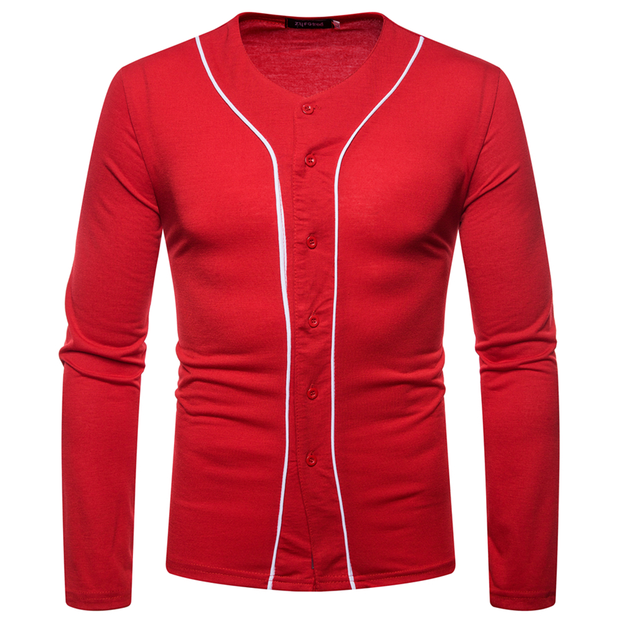 GuyuEra New long sleeved T shirt African ethnic style stitching men 39 s long sleeved V neck bottoming shirt in Africa Clothing from Novelty amp Special Use