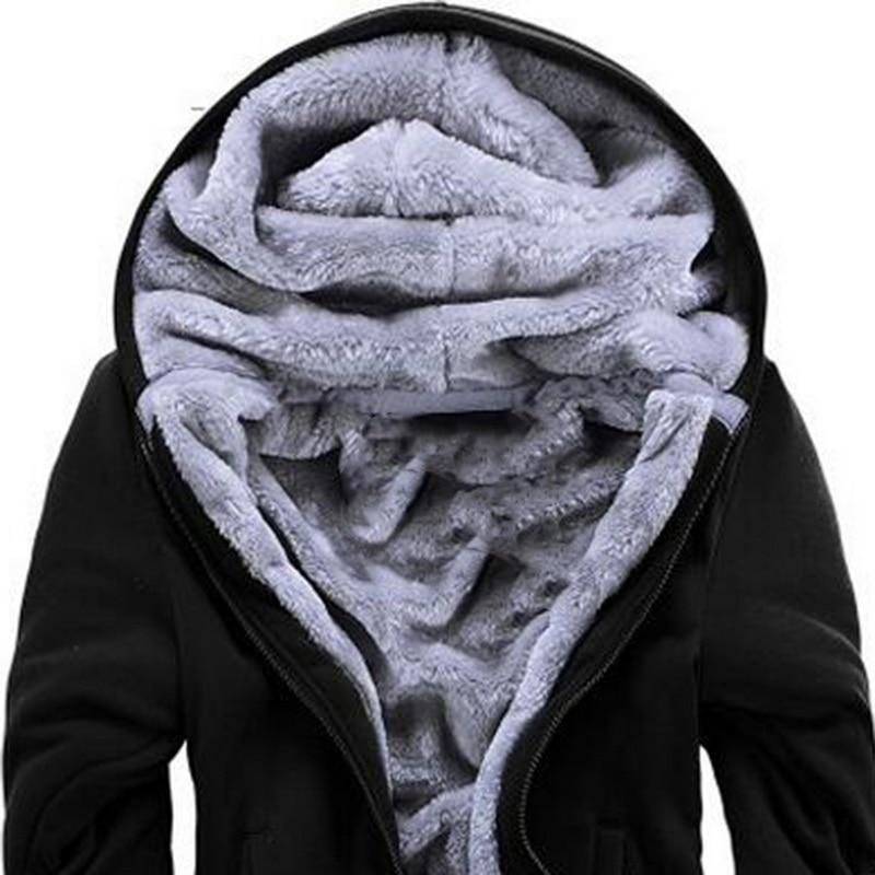 HTB12mvUXkxz61VjSZFrq6xeLFXak - Oeak Mens Casual Winter Thickened Warm Coat 2019 New Casual Zipper Hooded Fleece Long Sleeve Jacket Male Solid Color Parkas