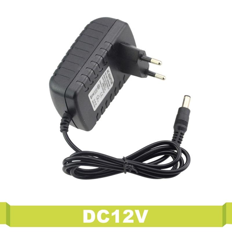 T.Y.S 100-240V Converter Led Driver DC12V Power Adapter EU Plug Electronic Converter Lighting Transformer Power Supply Led Strip ac100 240v dc18 35v 300ma 6 9 x1w led driver power supply converter adapter