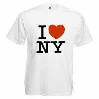 Novelty Design Men SHIRT UNISEX I LOVE NY New York City Camiseta Cool S M L