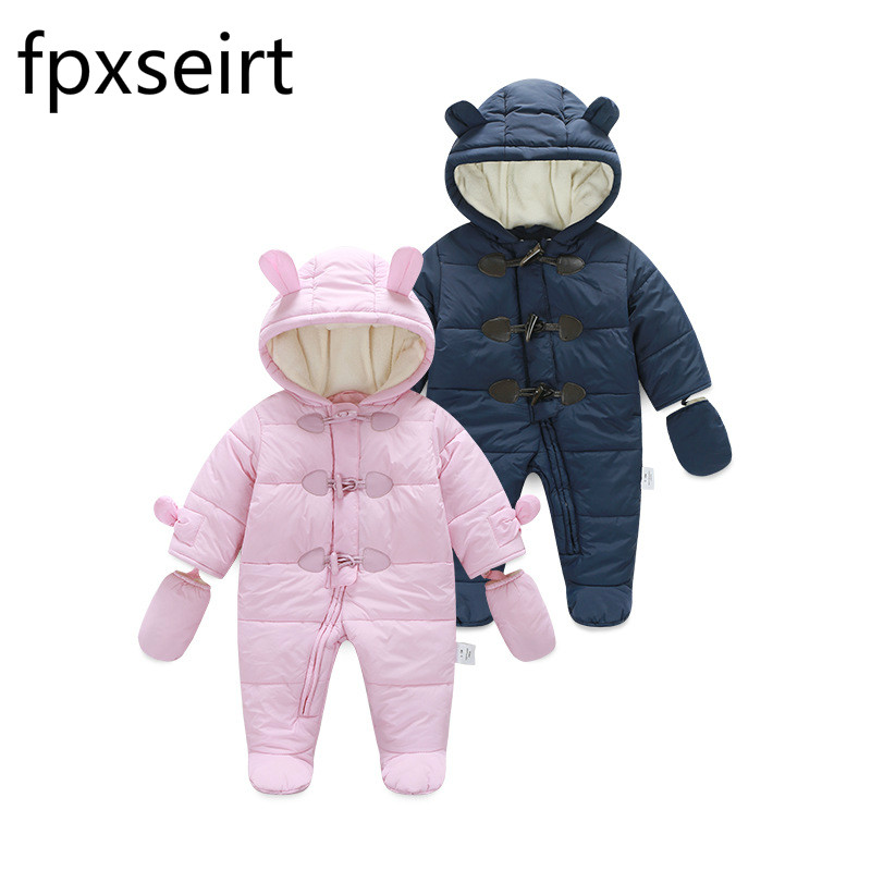 FPXSEIRT Spring Autumn Baby Cotton Clothes Flannel Baby Boys Clothes Cartoon Animal Jumpsuits Infant Girls Rompers Baby Clothing baby clothing infant baby kid cotton cartoon long sleeve winter rompers boys girls animal coverall jumpsuits baby wear clothes