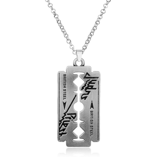 Razor Blade Chain Necklace 2