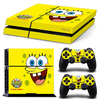 6Colors Sticker Skin For PS4 Vinyl Skin Sticker Cover For PS4 Playstation 4 Console 2 Controller