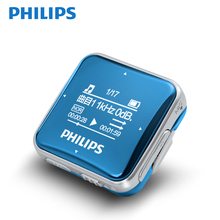 PHILIPS Original MP3 Player 8GB MP3/WAV High Sound Quality Entry-level Lossless Music Player with FM Sport player amoi c20 8gb mp3 player lossless hifi music high quality mini audiophile full format decoding walkman support ape fiac wav dsd64