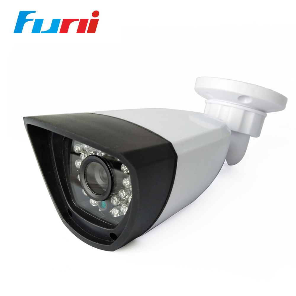 Funi Surveillance Outdoor Indoor Bullet Camera CCTV 1080P Mini AHD Camera 1080P Security Night Vision 2MP 3.6mm HD Camera cmos 800tvl bullet camera infrared light night vision cctv outdoor surveillance security plastic mini webcam freeshipping