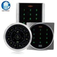 8000 Users Waterproof Metal Access Control Keypad RFID 125KHz Card Reader + 10 TK4100 RFID Keyfob, RFID Keychian, RFID Keyring
